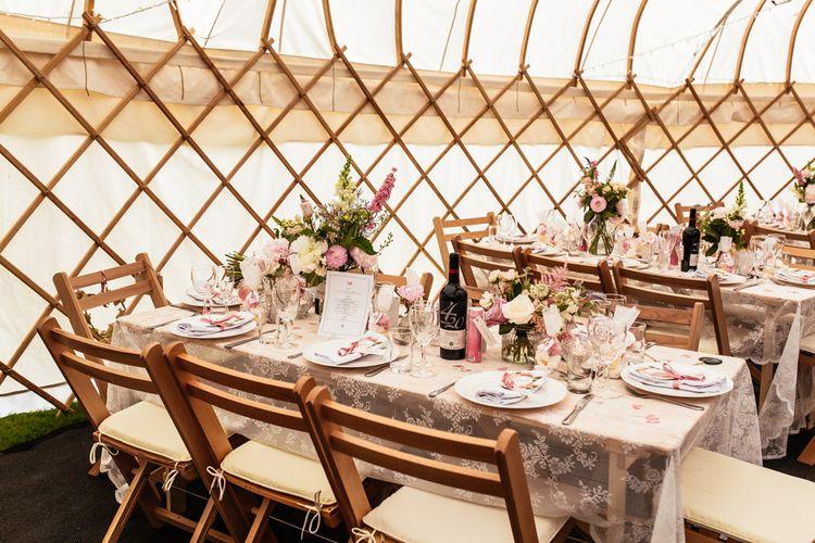 Rustic Yurt Wedding