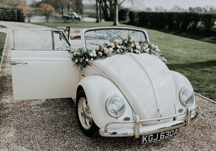 Vintage Beetle Wedding Car
