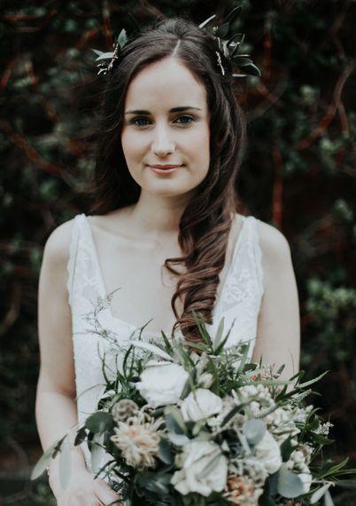 Bride With Natural Make Up