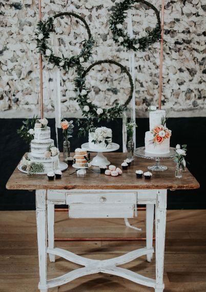 Epic Dessert Table For Wedding