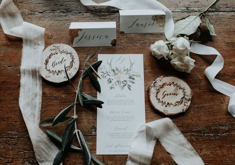 Rustic Luxe Stationery Suite