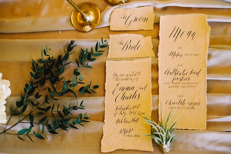 By Moon and Tide Stationery | Images by Olivia Bossert Photography |