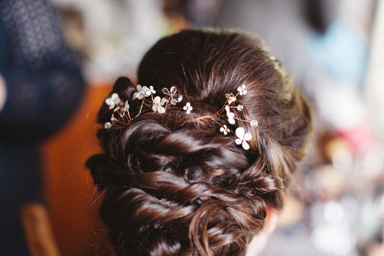 Twisted Wedding Hair Style | Bowtie and Belle Photography