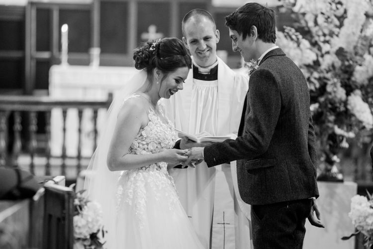 Church Wedding Ceremony | Bowtie and Belle Photography