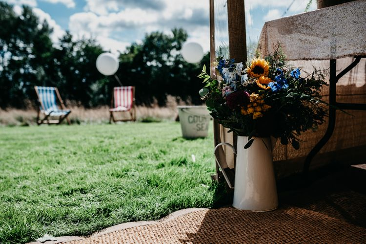 Wild Flowers in a Pitcher Jug | Andrew Brannan Photography
