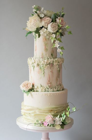 Summer Breeze Wedding Cake By The Frostery