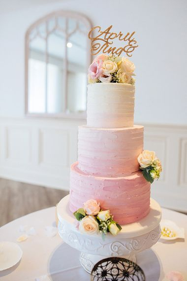 Pink Wedding Cake By Hannah Hickman Cakes