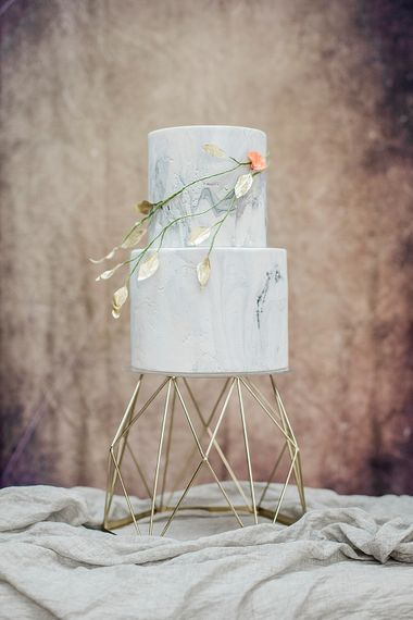 Marble Iced Cake By Cottonwood Bakery