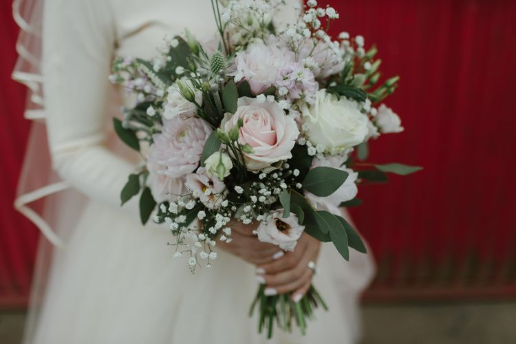 Classic Pink & White Bouquet