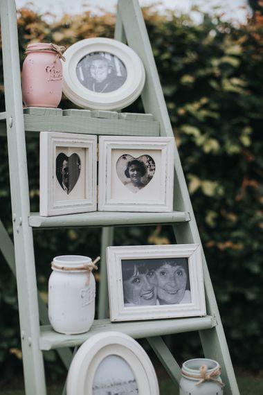 Vintage Family Photographs Wedding Decor