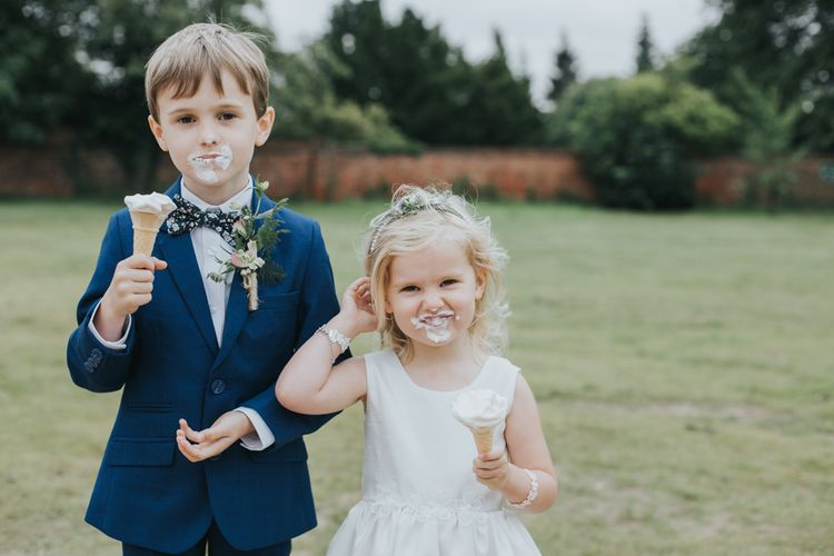 Adorable Flower Girl & Page Boy