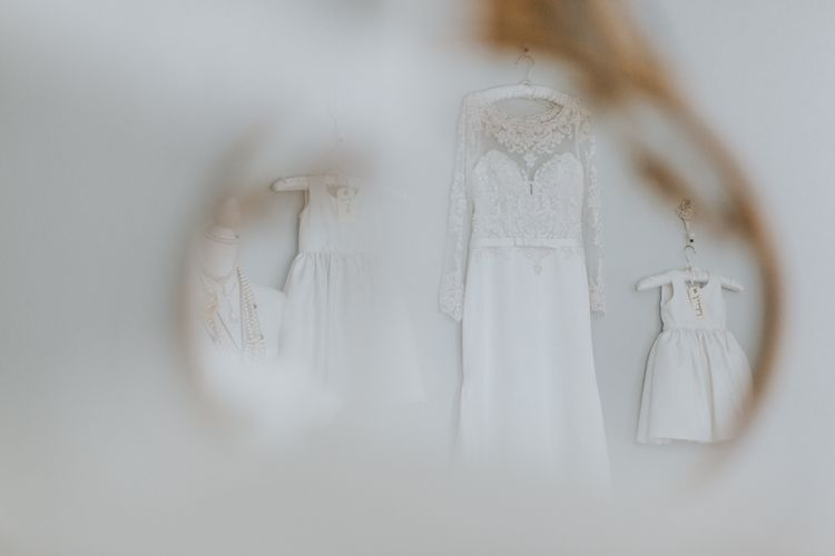 Wedding Party In White