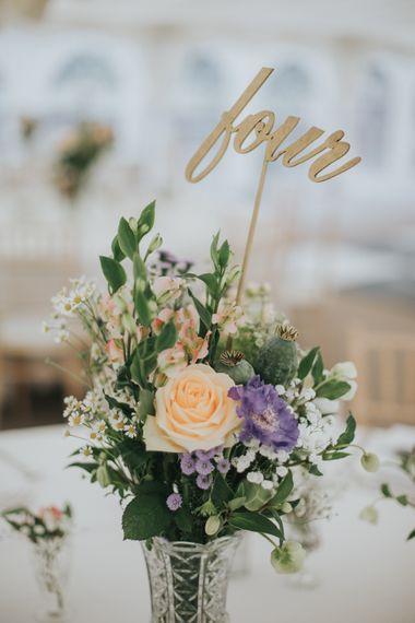 Floral Table Centrepieces