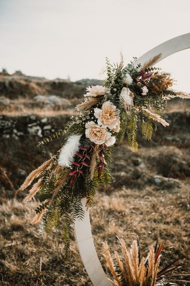 Moon Gate Wedding Flowers   A Wild Bohemian Bride in the Majella National Park, Abruzzo, Italy   Planned & Styled by Antonia Luzi   Federico Lanuto Photography