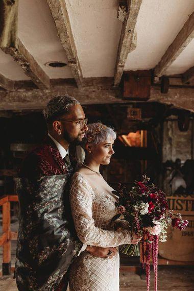 Sharon Cudworth Photography bride and groom portrait