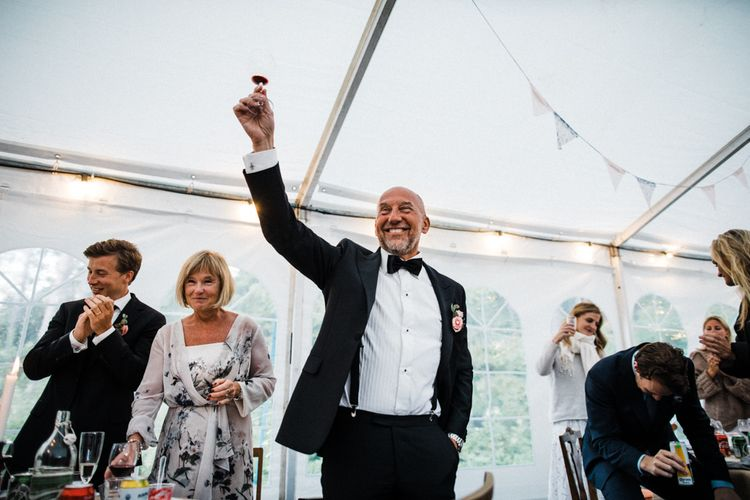Wedding Speeches | Woodland Wedding in Oslo, Norway | Through The Woods We Ran