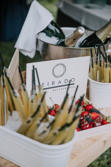 Spanish Food For Destination Wedding // Bamboo Furniture For Destination Wedding In Spain With Planning From El Mono Con Sombrero With Images By AHR Photos Spanish Wedding Photography