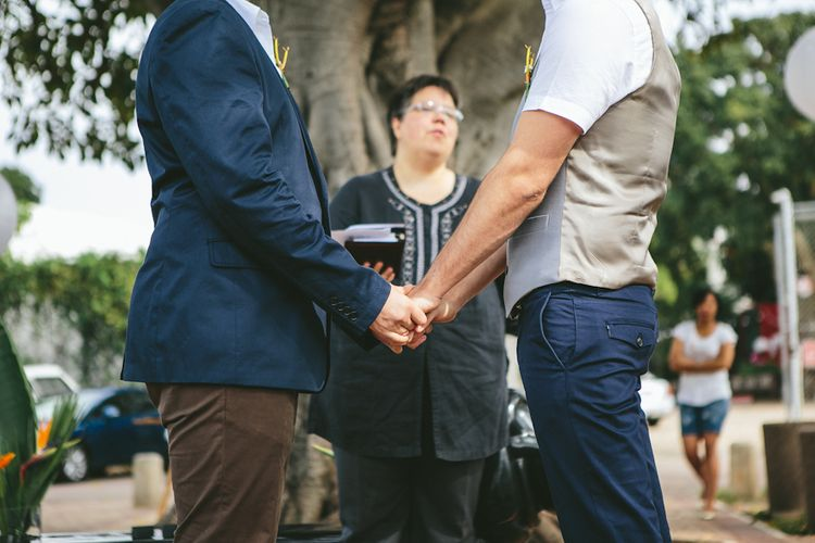 Same Sex Wedding Advice From RMW Real Couples // Image By Andy & Szerdi Photography