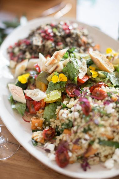Fresh Cous Cous Salad Wedding Breakfast