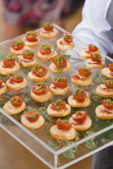 Bruschetta Wedding Canapés
