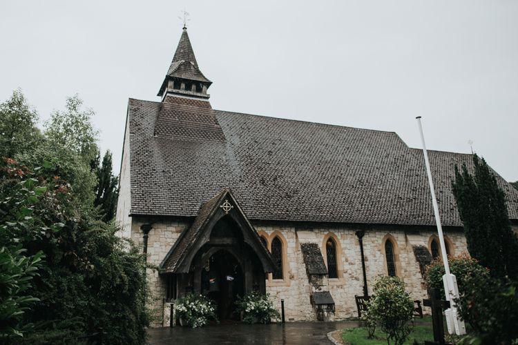 Church wedding ceremony in Farnham
