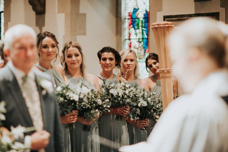 Sage green bridesmaid dresses