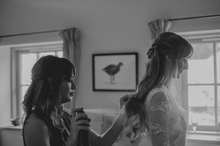 Wedding Morning Bridal Preparations