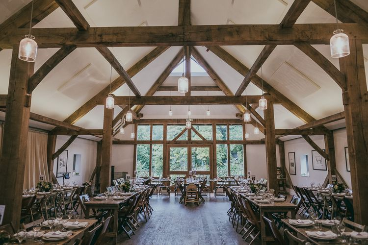 Rustic Barn Reception at Nancarrow Farm Wedding Venue