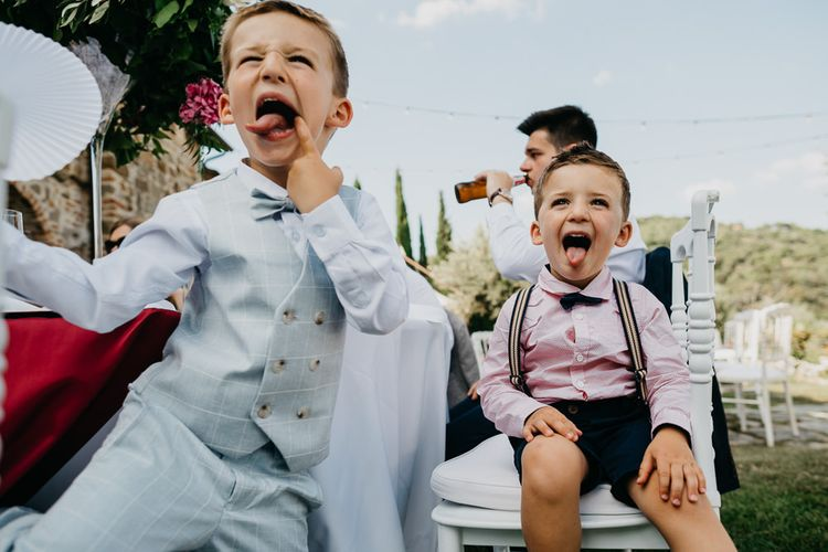 Cheeky Wedding Guests in Bow Ties
