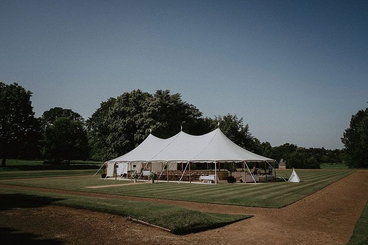 Marquee Reception at Rousham House
