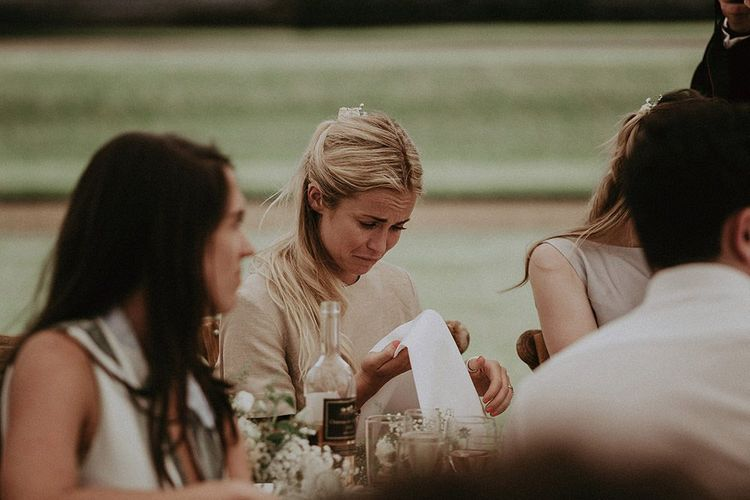 Emotional Guests During Wedding Speeches