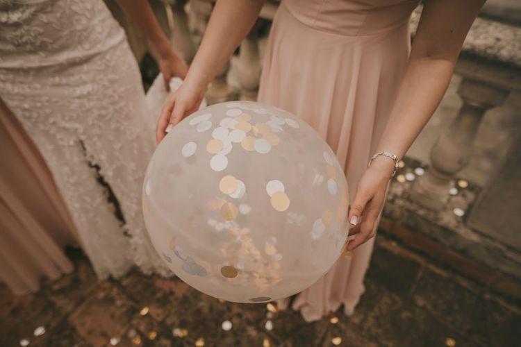 Wedding confetti balloons