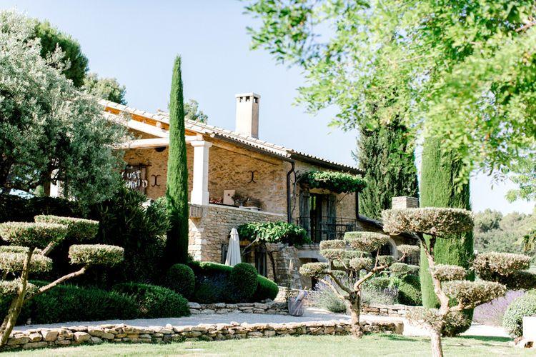 Domaine Les Roullets, Luberon, Provence Wedding Venue
