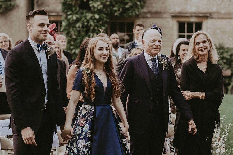 Groom's Family at Wedding Ceremony