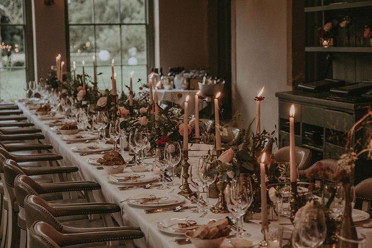 Elegant Wedding Reception Tables