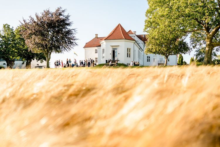 Traditional Green/Blue Danish Wedding at Scandinavian Country House, Jomfruens Egede in Faxe, Denmark | John Barwood Photography