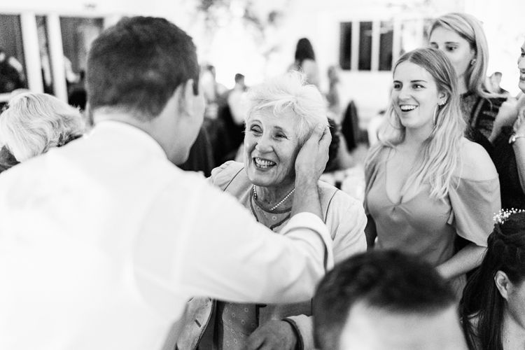 Evening Reception Speeches | Traditional Green/Blue Danish Wedding at Scandinavian Country House, Jomfruens Egede in Faxe, Denmark | John Barwood Photography
