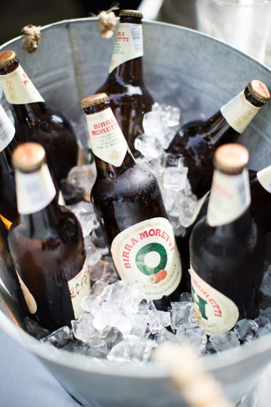 Bottles of Beer | Four Day Italian Destination Wedding at Frattoria Mansi Bernadini Planned by Weddings by Emily Charlotte | Cecelina Photography