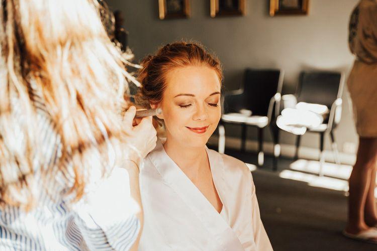 Bridal makeup for Askham Hall wedding