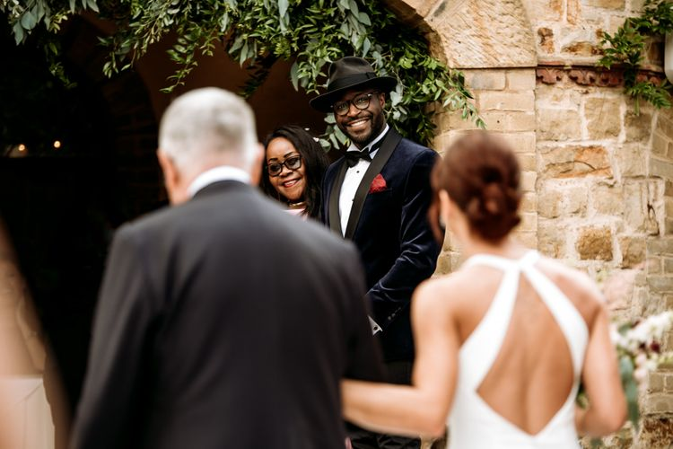 Wedding ceremony at The Ravenswood