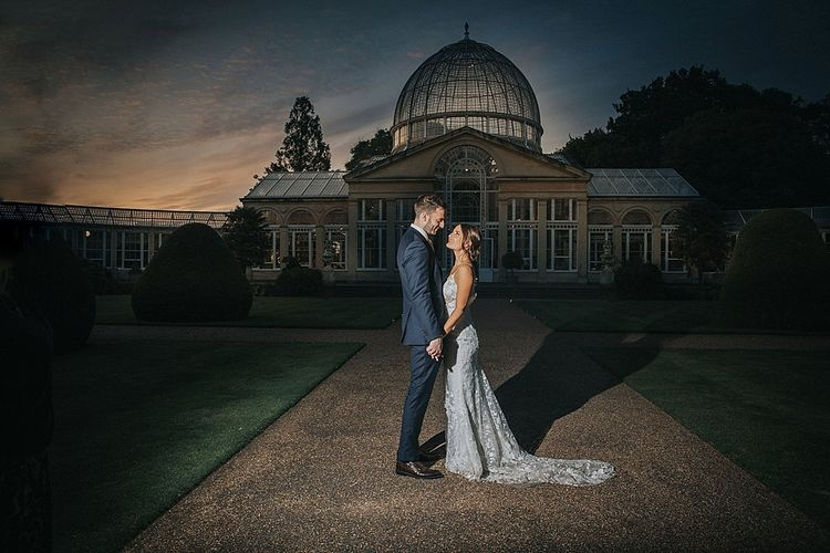 Sunset In Front of Essex Wedding Venue Syon Park