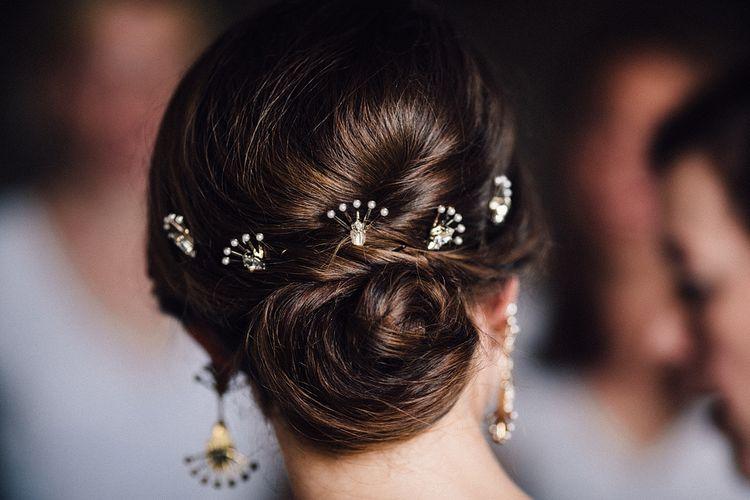 Bridal Hair with Tilly Thomas Lux Hair Pins
