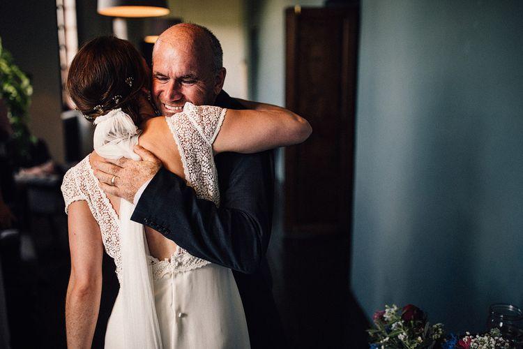 Pre-Ceremony Embrace