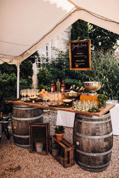 Rustic Spritz Bar
