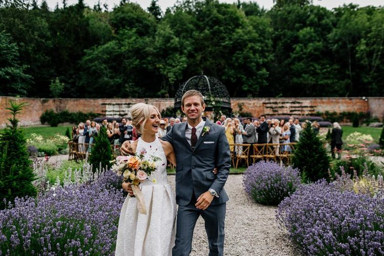 Bride and Groom After Ceremony