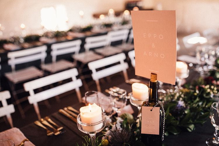 Table Stationery by Lilac & White