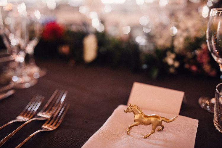 Gold Horse Favour
