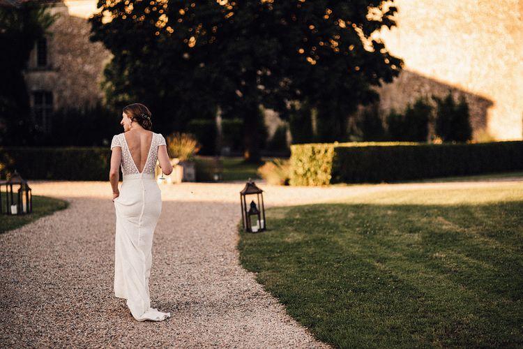 Bride in Foster Dress by Laure de Sagazan