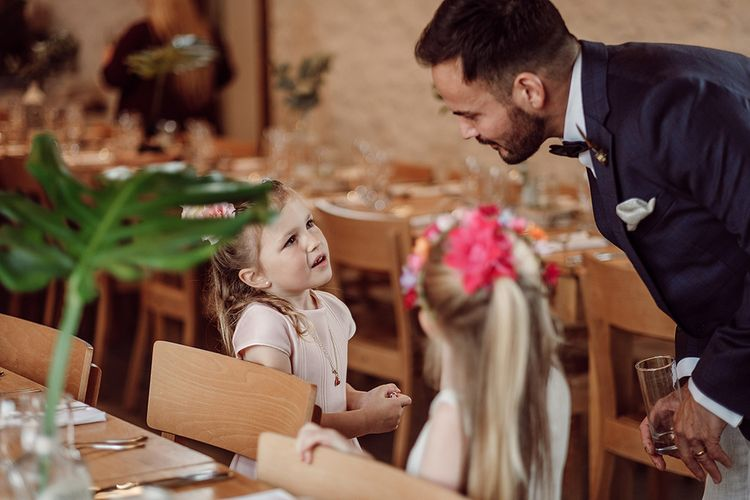 Stylish Minimal Wedding At River Cottage With Grooms In Reiss & Hugo Boss Images By Jason Mark Harris And Film From Harris Films
