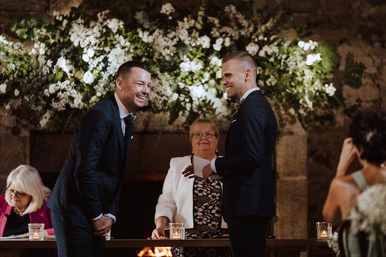 Gay Wedding at Healey Barn Northumberland Wedding Venue